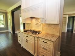 Kitchen Stove & Custom Range Hood